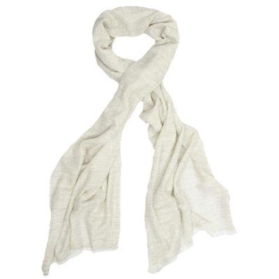 Beshlie-herringbone-cashmere-scarf-oatmeal