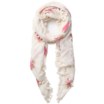 Beshlie-ivory-dupatta-with-gold-and-pink-navaho-loop