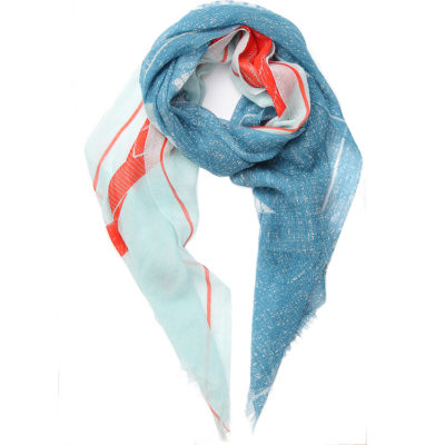 Inouitoosh-kisu-scarf-in-blue-and-orange-loop