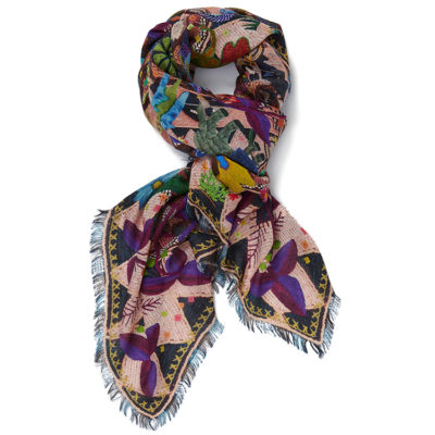 Jane-Carr-souk-square-shell-cashmere-modal-scarf-loop