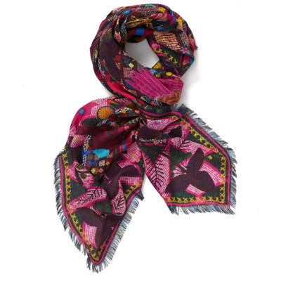 jane-carr-souk-square-hibiscus-cashmere-modal-scarf-loop