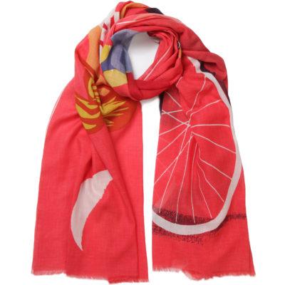 pivoine-red-eiffel-cotton-scarf-loop
