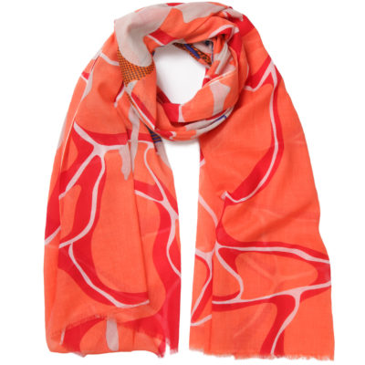 pivoine-red-ocean-cotton-scarf-loop