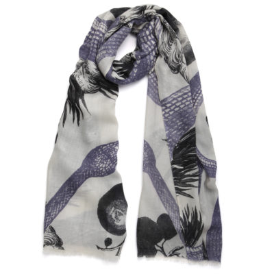 Friendy-hunting-garden-of-eden-cashmere-scarf-ivroy-and-black-loop