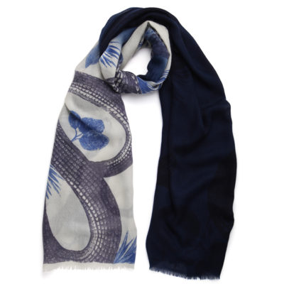 Friendy-hunting-garden-of-eden-shaded-cashmere-scarf-ivory-and-ink-loop
