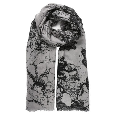 Bella-Ballou-grey-wool-scarf-lace-design-loop