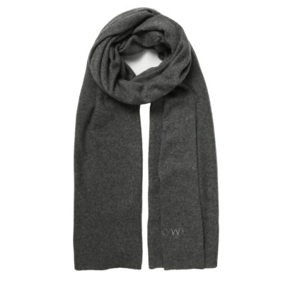 Cleverly-wrapped-classic-cashmere-charcoal-grey-scarf-loop