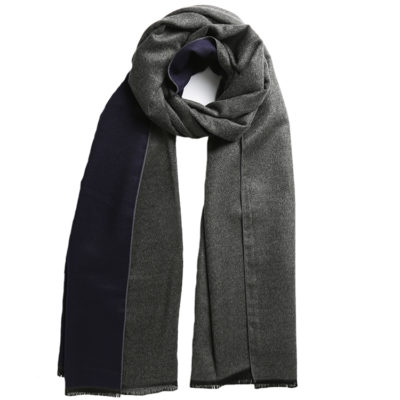 Navy-and-charcoal-grey-commuter-express-scarf-loop