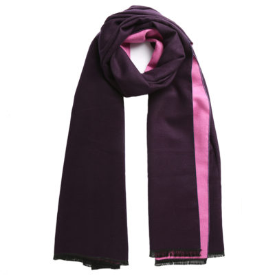 Purple-and-pink-commuter-express-scarf-loop