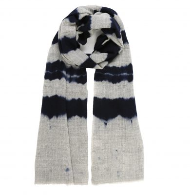 Rose-and-Rose-navy-and-grey-wool-scarf-whistler-loop