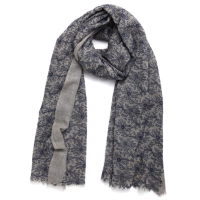 rose-and-rose-leicester-square-wool-scarf-navy-and-blue-loop