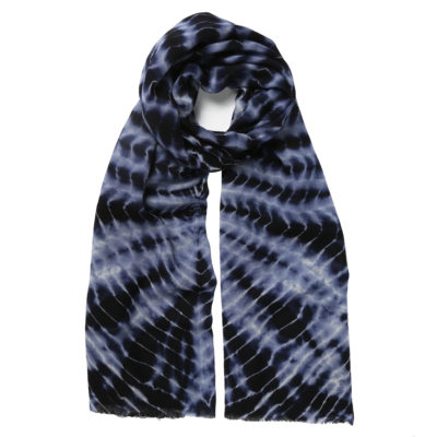 Jo-Edwards-wool-tie-dye-scarf-navy-loop