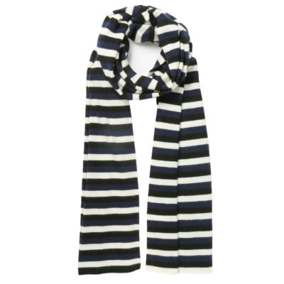 Madeleine-Thompson-cashmere-striped-scarf-loop