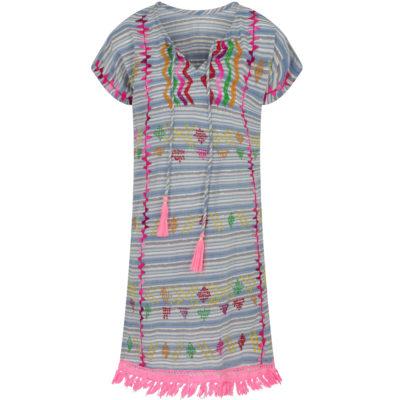 lula-soul-pink-tasseled-kaftan-front-loop