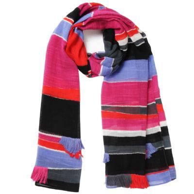 amet-and-ladoue-multi-coloured-striped-tasseled-scarf-loop