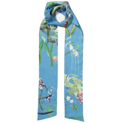 bella-ballou-asian-garden-printed-silk-twilly-loop
