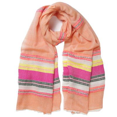 fab-himilaya-orange-wool-scarf-loop