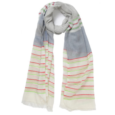 ombre-striped-cotton-scarf-loop-Recovered