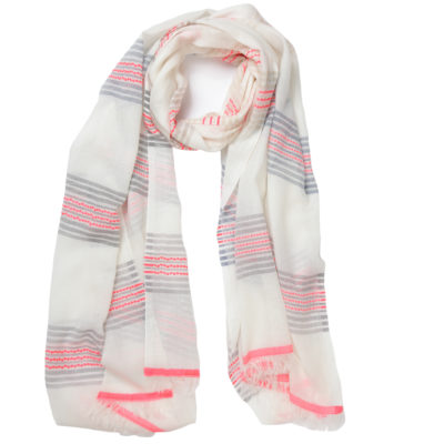 ombre-striped-pink-trimmed-scarf-loop-Recovered