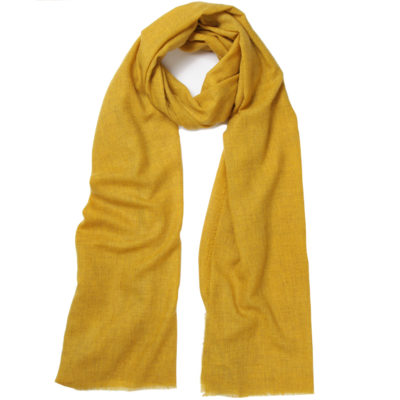 sous-les-paves-ochre-cashmere-scarf-loop