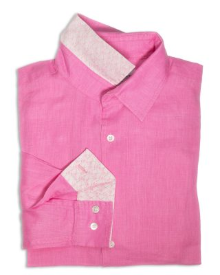 linen-shirt-PLAIN-fuschia-pink
