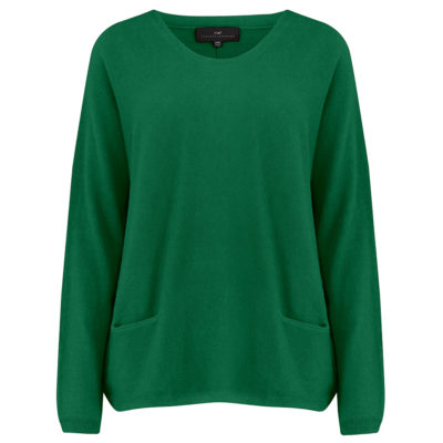 Cleverly-wrapped-cashmere-round-neck-jumper-green-front_1
