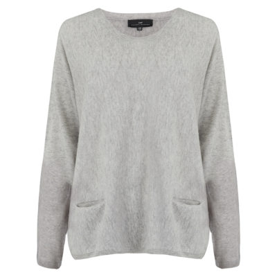 Cleverly-wrapped-cashmere-round-neck-jumper-grey-front_1