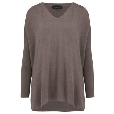 Cleverly-wrapped-cashmere-v-neck-poncho-taupe-front_1