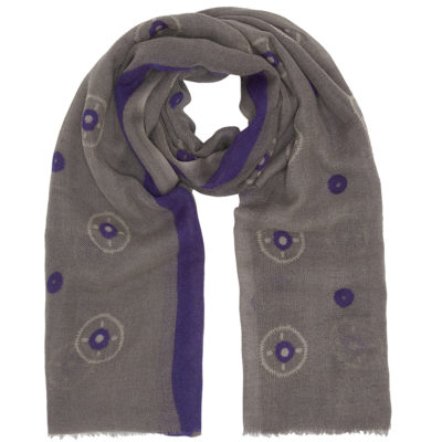 Hellen-van-berkel-purple-wool-scarf-loop