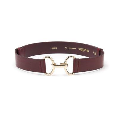 Herbert-Frère-soeur-burgundy-leather-belt-2