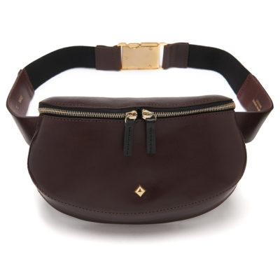 Herbert-Frère-soeur-burgundy-leather-bum-bag-2
