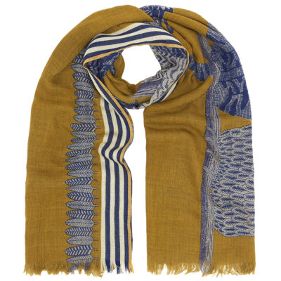 Inouitoosh-yellow-wool-scarf-owls-loop