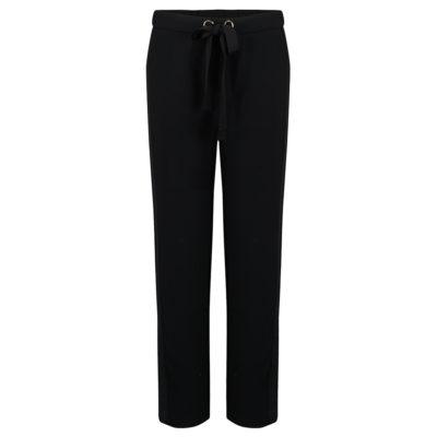 Petite-etoile-black-drawstring-trousers-front_1