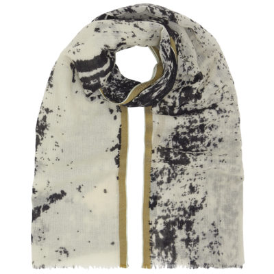 cleverly-wrapped-wool-scarf-black-white-abstract-loop