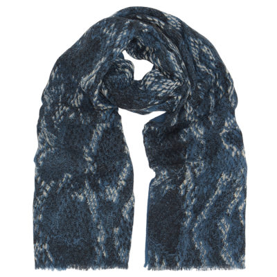 cleverly-wrapped-wool-scarf-navy-snake-loop