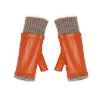 guanti-alex-orange-leather-cashmere-fingerless-glove-1