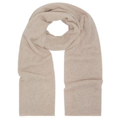 oatmeal classic cashmere scarf