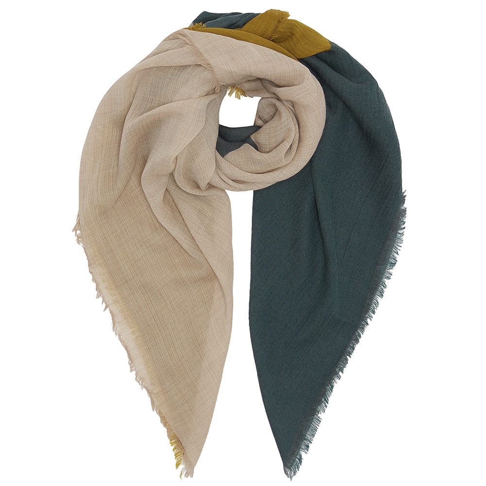 efb6ad76d0d74 Sunlight wool square scarf - Cleverly Wrapped