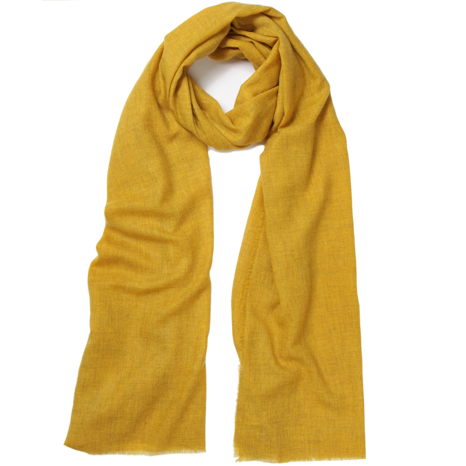75a61e37c4bb1 men's ochre cashmere scarf - Cleverly Wrapped