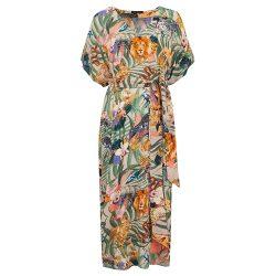 fa1a5e333a Safari print kaftan dress - Cleverly Wrapped