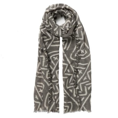 grey wool scarf – Swaziland