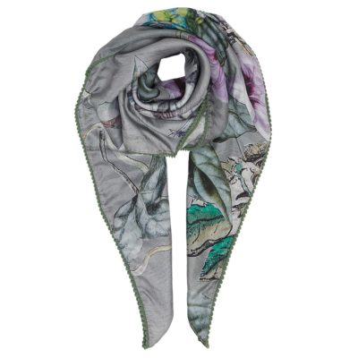 ethereal silk square scarf