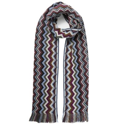 classic multi-coloured missoni scarf