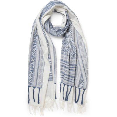 jacquard hindoo scarf